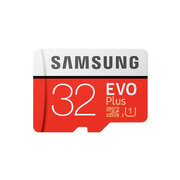 Samsung micro securedigital 32gb sdhc evo plus class10 uhs-i u1 mb-mc32garu 580715 фото